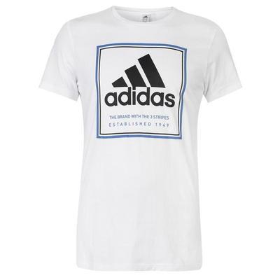 Adidas Roots, koszulka męska, biała blk, Rozmiar XXL