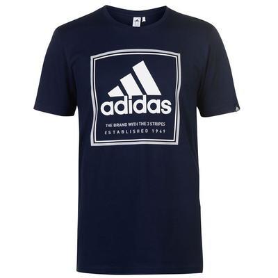 Adidas Roots, koszulka męska, granatowa, Rozmiar L