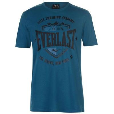 Everlast Shield, koszulka męska, niebieska, Rozmiar S