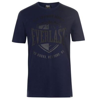 Everlast Shield, koszulka męska, granatowa, Rozmiar S