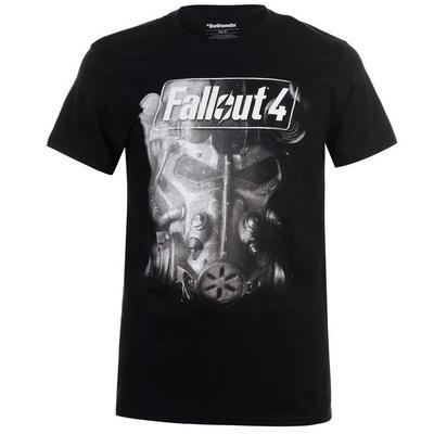 Character Fallout 4, koszulka męska, Brotherhood, Rozmiar L