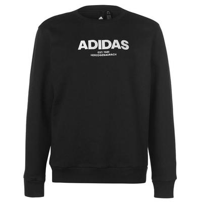 Adidas Essential Crew Bluza Męska, Czarna, Rozmiar L