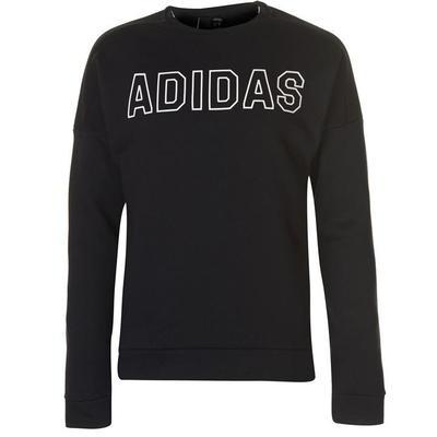Adidas SID Crew, bluza męska, czarna, Rozmiar L