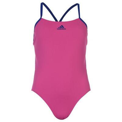 Adidas Performance, strój kąpielowy, damski, różowy, Rozmiar L