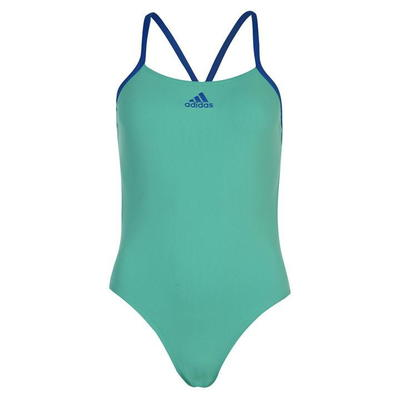 Adidas Performance, strój kąpielowy, damski, zielony, Rozmiar M