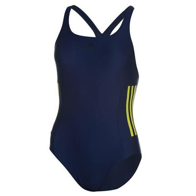 Adidas Infinitex, strój kąpielowy, damski, granatowy, Rozmiar XS