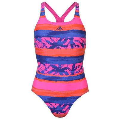 Adidas Fit All Over Print, strój kąpielowy, wzorzysty, Rozmiar XS