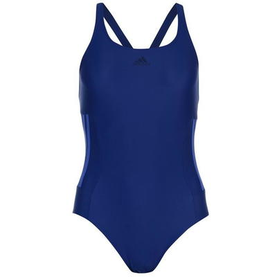 Adidas Infinitex Fitness Eco, strój kąpielowy, ciemnoniebieski, Rozmiar XS
