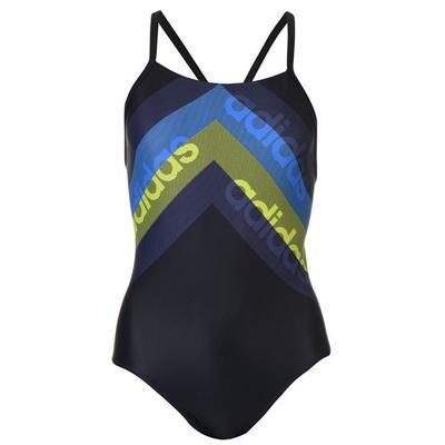 Adidas Fit Lineage, strój kąpielowy, czarny, Rozmiar XL