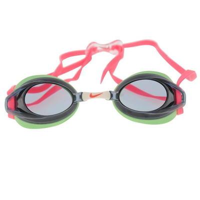 Nike Remora, okulary do pływania damskie, czarno zielone