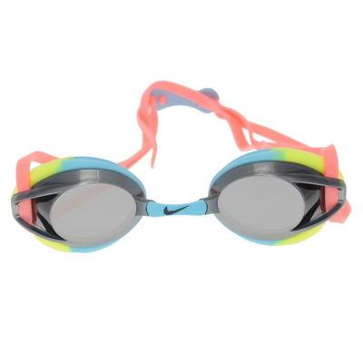 Nike Remora Mirror, okulary do pływania dla dzieci, kolorowe