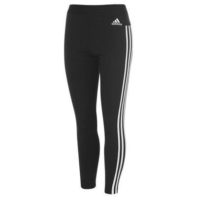 Adidas Essential 3 Stripe, legginsy damskie, czarne, Rozmiar S