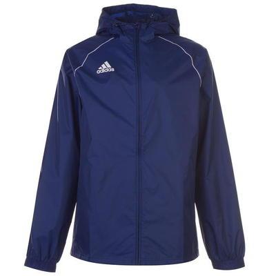 Adidas Core, kurtka przeciwdeszczowa, granatowa, Rozmiar XS