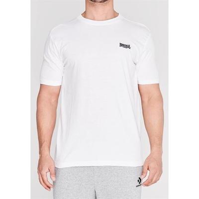 Lonsdale Plain, koszulka męska, biała, Rozmiar 4XL