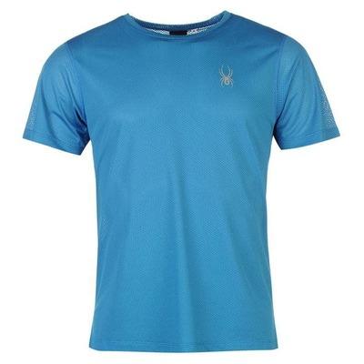 Spyder Alpine, koszulka męska, niebieska, Rozmiar S