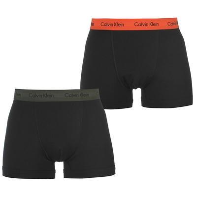 Calvin Klein, bokserki 2 sztuki, czarne, rozmiar S