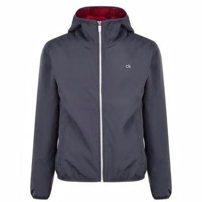 Calvin Klein Golf, kurtka męska, grafitowa, Rozmiar L