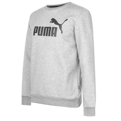 Puma No 1 Crew, bluza męska, szara, Rozmiar L