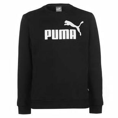 Puma No 1 Crew, bluza męska, czarna, Rozmiar M