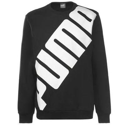 Puma Big Logo, bluza męska, czarna, Rozmiar L