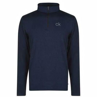 Calvin Klein Newport, golf męski, granatowy, Rozmiar S