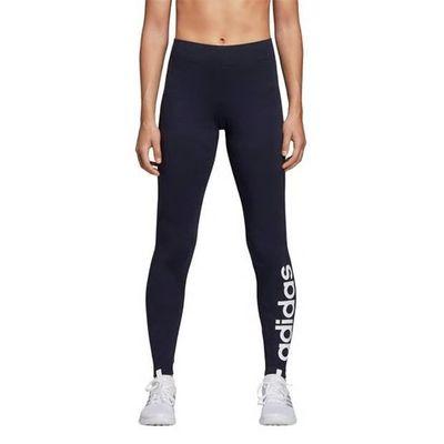 Adidas Linear, Legginsy damskie, granatowe, Rozmiar L