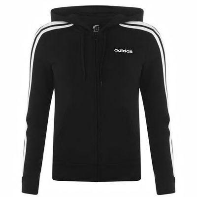 Adidas Essential, bluza damska z kapturem, czarna
