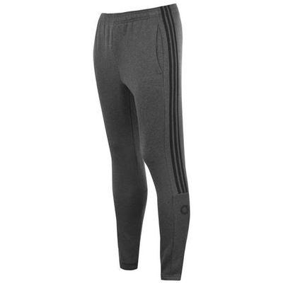 Adidas 3 Stripe Logo, spodnie dresowe męskie, szare, Rozmiar M
