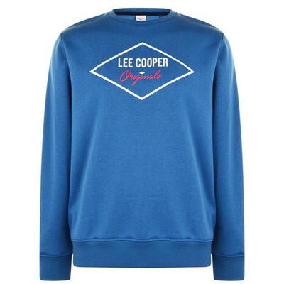 Lee Cooper Diamond, bluza męska, niebieska, Rozmiar S
