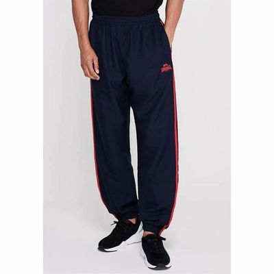 Lonsdale 2 Stripe spodnie dresowe, granatowe, Rozmiar S