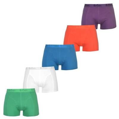 Lee Cooper bokserki męskie, pięciopak, Bright Asst, Rozmiar XL