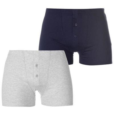 Slazenger bokserki męskie, 2 szt. szare / niebieskie, Rozmiar XL