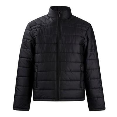 Lee Cooper kurtka zimowa męska, czarna, Rozmiar L