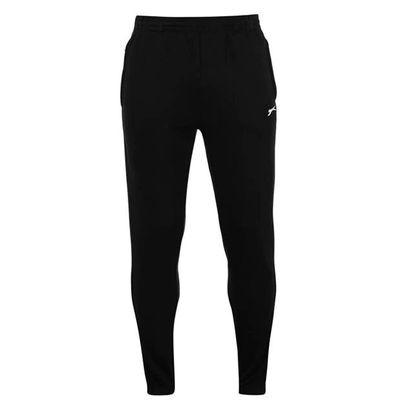 Slazenger Cuffed, spodnie dresowe męskie, czarne, Rozmiar M