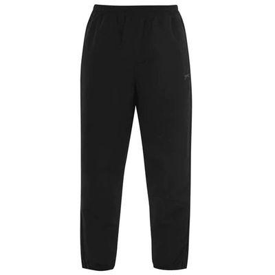 Slazenger Woven, spodnie dresowe, czarne, Rozmiar M