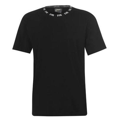Everlast Neck, koszulka męska, czarna, Rozmiar M