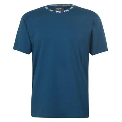 Everlast Neck, koszulka męska, kolor morski, Rozmiar M