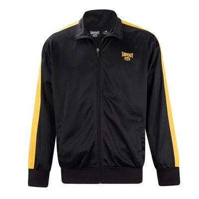 Tapout Track, kurtka dresowa męska, czarna, Rozmiar XL