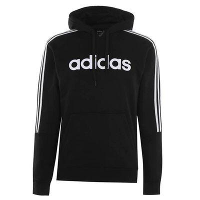 Adidas 3S Logo OTH, bluza z kapturem, czarna, Rozmiar 3XL