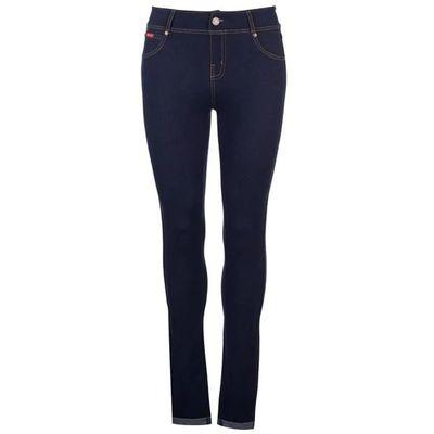 Lee Cooper Denim, legginsy dżinsowe, granatowe, Rozmiar XXS