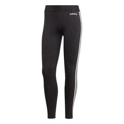 Adidas 3S, legginsy damskie, czarne, Rozmiar L