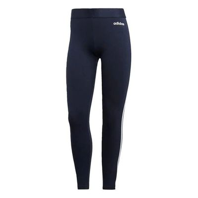 Adidas 3S, legginsy damskie, granatowe Ink, Rozmiar L