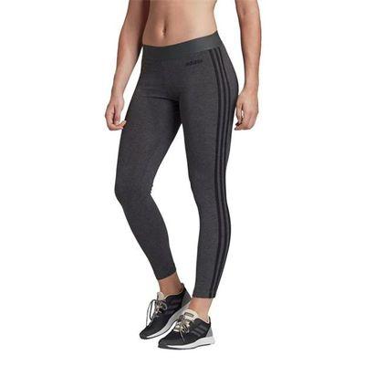 Adidas 3S, legginsy damskie, ciemnoszare, Rozmiar S