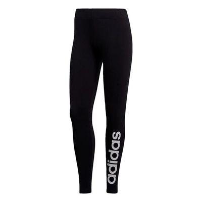 Adidas Linear, legginsy damskie, czarne, Rozmiar L
