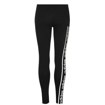 Adidas C90, legginsy damskie, czarne, Rozmiar L