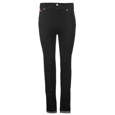 Lee Cooper Denim, legginsy dżinsowe, czarne, Rozmiar XXL