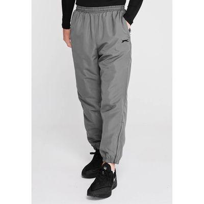 Slazenger Woven, spodnie dresowe, srebrne, Rozmiar S
