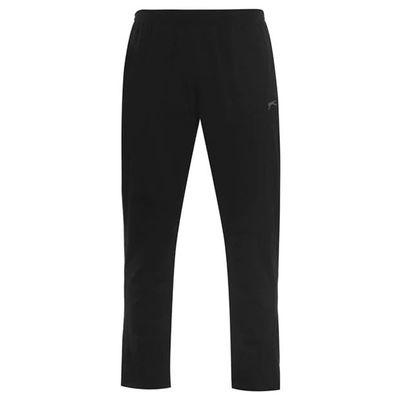 Slazenger Jersey, spodnie dresowe męskie, czarne, Rozmiar 4XL