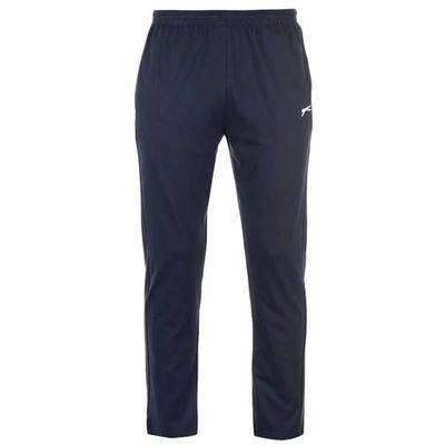 Slazenger Jersey, spodnie dresowe męskie, granatowe, Rozmiar XL
