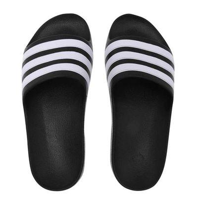 Adidas Duramo klapki męskie, czarne, Rozmiar EU 44.7